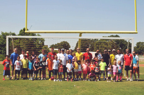 Kick Diabetes Camp Photos